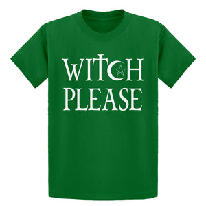 Youth Witch Please Kids T-shirt
