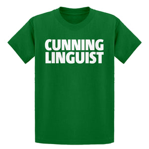 Youth Cunning Linguist Kids T-shirt