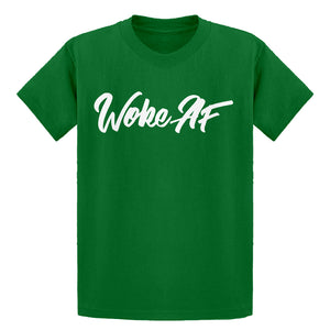 Youth Woke AF Kids T-shirt