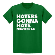 Youth Haters Gonna Hate Proverbs 9:8 Kids T-shirt