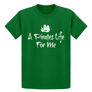 Youth A Pirates Life for Me Kids T-shirt