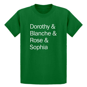 Youth Golden Names Kids T-shirt