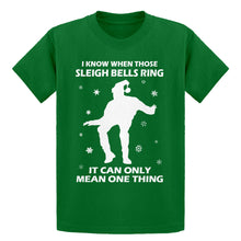 Youth When Those Sleigh Bells Ring (was 3109) Kids T-shirt