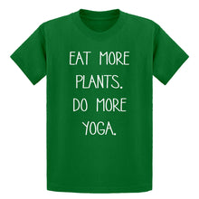 Youth More Plants More Yoga Kids T-shirt