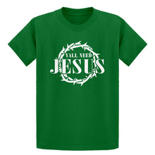 Youth Yall Need Jesus Kids T-shirt