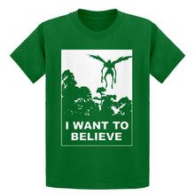 Youth I Want to Believe Shinigami Kids T-shirt