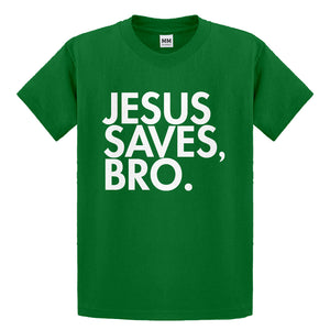 Youth Jesus Saves Bro Kids T-shirt