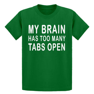Youth Too Many Tabs Open Kids T-shirt
