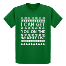 Youth I can get you on the Naughty List Kids T-shirt