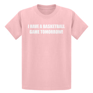 Youth Basketball Game Tomorrow Kids T-shirt