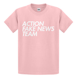 Youth Action Fake News Team Kids T-shirt