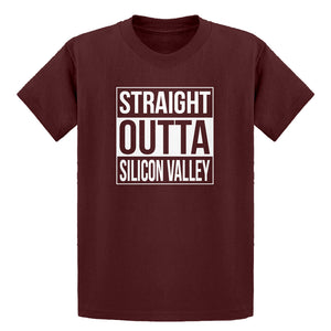 Youth Straight Outta Silicon Valley Kids T-shirt
