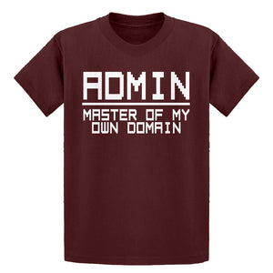 Youth Admin Master of my Domain Kids T-shirt