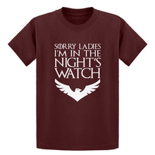 Youth Sorry Ladies Nights Watch Kids T-shirt