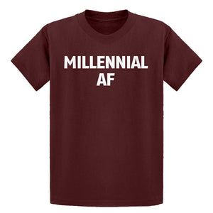 Youth Millennial AF Kids T-shirt
