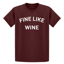 Youth Fine like Wine Kids T-shirt