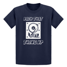 Youth Back that Thing Up Kids T-shirt