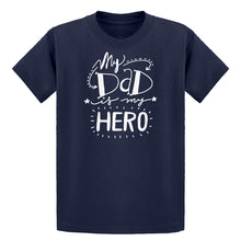 Youth My Dad is My Hero Kids T-shirt