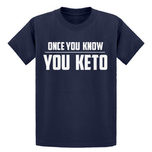 Youth Once You Know, You Keto Kids T-shirt