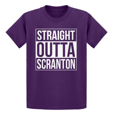 Youth Straight Outta Scranton Kids T-shirt