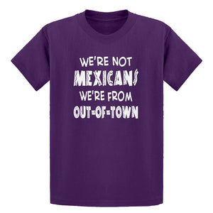 Youth We're from Out of Town Kids T-shirt