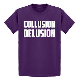 Youth Collusion Delusion Kids T-shirt