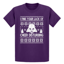 Youth I Find Your Lack of Cheer Disturbing Kids T-shirt