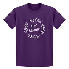 Youth Give Thanks Kids T-shirt
