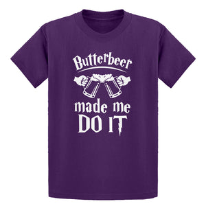 Youth Butterbeer Made Me Do It Kids T-shirt
