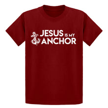 Youth Jesus is My Anchor Kids T-shirt