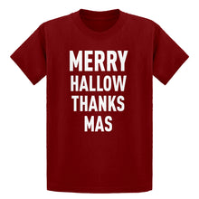 Youth Merry Hallow Thanks Mas Kids T-shirt
