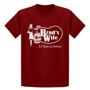 Youth Brad's Wife Kids T-shirt