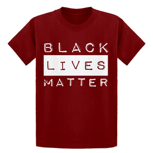 Youth Black Lives Matter Activism Kids T-shirt