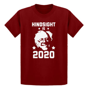 Youth Hindsight is 2020 Bernie Sanders Kids T-shirt
