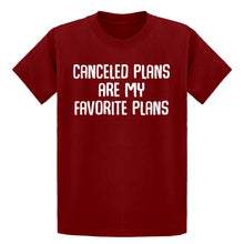 Youth Canceled Plans Kids T-shirt