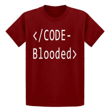 Youth Code Blooded Kids T-shirt