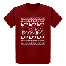 Youth Christmas is Coming Kids T-shirt