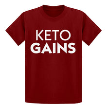 Youth Keto Gains Kids T-shirt