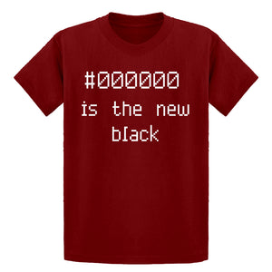 Youth 000000 is the new black Kids T-shirt