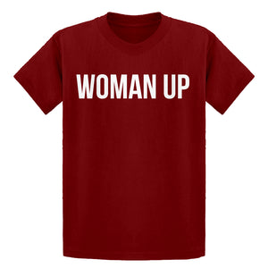 Youth Woman Up Kids T-shirt