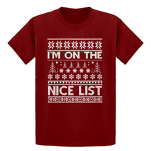 Youth Im on the Naughty List Kids T-shirt