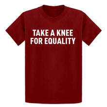 Youth Take a Knee for Equality Kids T-shirt