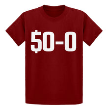 Youth 50-0 Undefeated Kids T-shirt