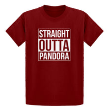 Youth Straight Outta Pandora Kids T-shirt
