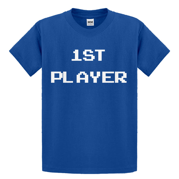 Youth 1st Player Kids T-shirt