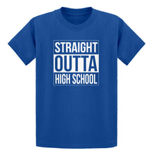 Youth Straight Outta High School Kids T-shirt