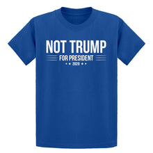 Youth NOT TRUMP for President 2020 Kids T-shirt