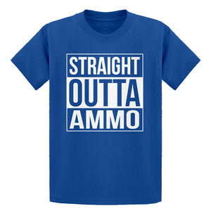 Youth Straight Outta Ammo Kids T-shirt