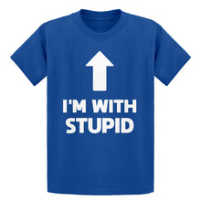 Youth I'm with Stupid Up Kids T-shirt