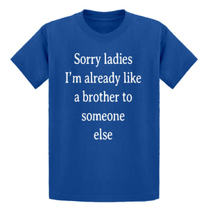 Youth Sorry ladies Kids T-shirt